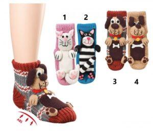 3D nogavice pes in mačka