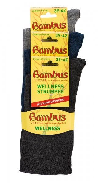 Bambus nogavice MELANGE 10