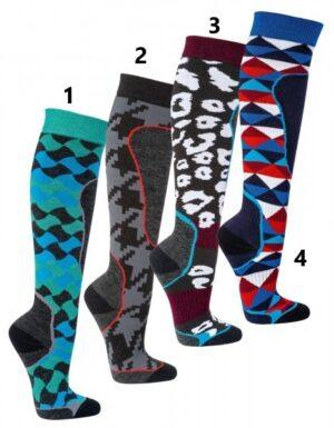 MODNE smučarske nogavice