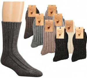 Volnene  pletene nogavice