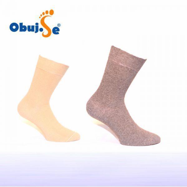 Bombažne nogavice brez elastike 1