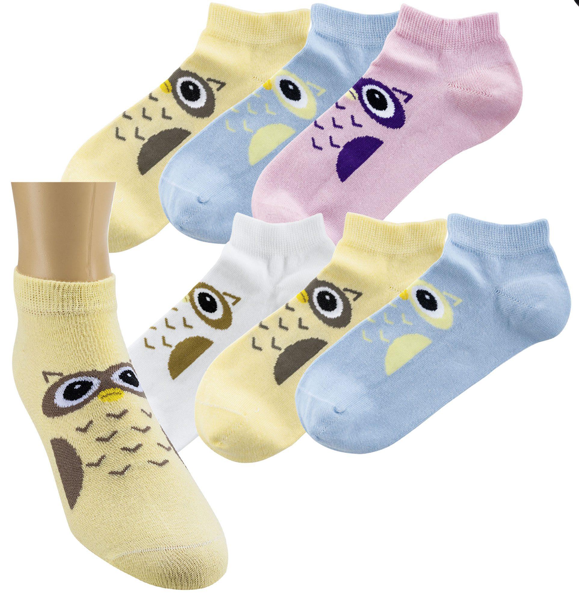 Bombažne nogavice stopalke OWL 3