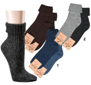 Ženske volnene nogavice VOLNA – SVILA
